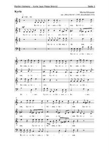 Missa Brevis (1995): Kyrie by Martin Klemenz