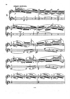 Eight Etudes for Two Violins, Op.18: Estudo No.3 by Henryk Wieniawski