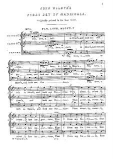English Madrigals I: No.1-6 by John Wilbye