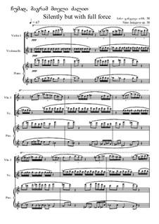Silently but with full force, Op.58: Silently but with full force by Nino Janjgava