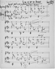 Es war, als hätt' der Himmel for Voice and Piano: Es war, als hätt' der Himmel for Voice and Piano by Ernst Levy