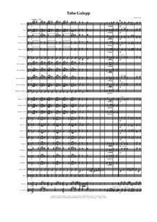 Tuba Galopp: Concert band by Thomas Hans Graf