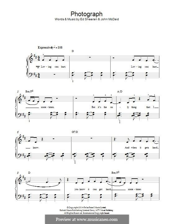 Photograph: Para Piano by Ed Sheeran, John McDaid