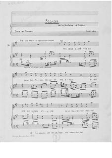 Stances de la fontaine d'Hélène (A Major): A maior by Ernst Levy