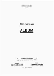Album, Op.10, 17, 18, 23, 27, 36, 38, 58, 73: Album by Moritz Moszkowski
