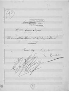Pleure, pluie fine for Voice and Piano: Pleure, pluie fine for Voice and Piano by Ernst Levy