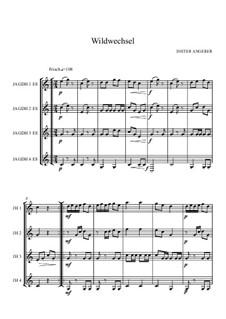 Wildwechsel, Op.105: Wildwechsel by Dieter Angerer