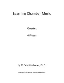 Learning Chamber Music: Flute quartet by Michele Schottenbauer