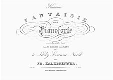 Fantaisie sur 'Le Duo de Don Juan', La ci darem la mano de Mozart, Op.33: Fantaisie sur 'Le Duo de Don Juan', La ci darem la mano de Mozart by Friedrich Kalkbrenner