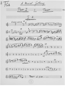 A Musical Gathering: partes by Ernst Levy