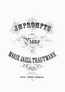 Impromptu: Improviso by Marie Jaëll