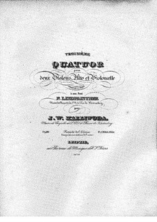 String Quartet No.3, Op.90: String Quartet No.3 by Jan Kalliwoda
