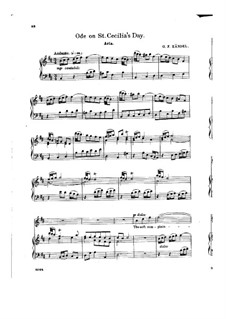 Ode for St. Cecilia's Day, HWV 76: The Soft Complaining Flute by Georg Friedrich Händel