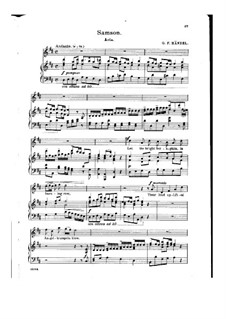 Samson, HWV 57: Let the Bright Seraphim by Georg Friedrich Händel