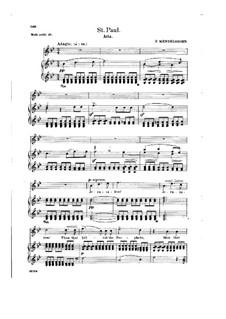 St. Paul, Op.36: Jerusalem! Jerusalem! Thou That Killest the Prophets by Felix Mendelssohn-Bartholdy