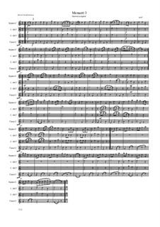 Menuett 3: Menuett 3 by Friedrich Gross