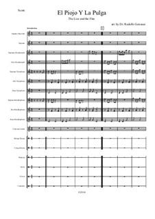El Piojo Y La Pulga: For orff ensemble by folklore