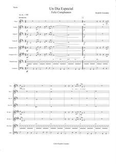 Un Dia Especial: For mariachi by Rodolfo Gonzalez