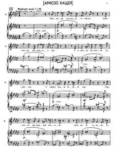 Kashchey the Deathless: Arioso of Kashchey by Nikolai Rimsky-Korsakov