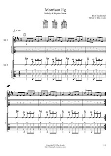 Morrison Jig: For guitars by folklore