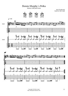 Dennis Murphy's Polka: For guitars by folklore