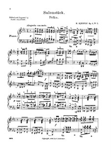 Three Pieces, Op.4: todas as peças by Halfdan Kjerulf
