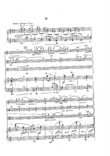 Piano Quartet in A Minor, Op.31: movimento III by Georgy Catoire