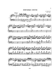 Sonatas: Sonatas by Domenico Cimarosa