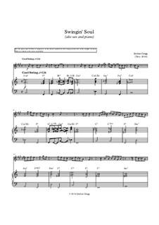 Swingin' Soul (alto sax and piano): Swingin' Soul (alto sax and piano) by Jordan Grigg