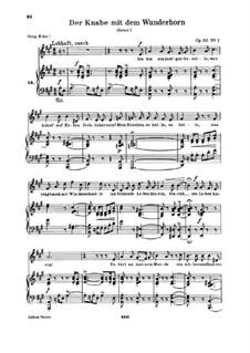 Three Poems, Op.30: Complete set (German text) by Robert Schumann