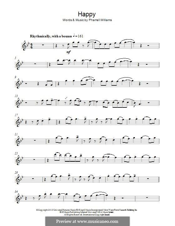 Happy: para flauta by Pharrell Williams