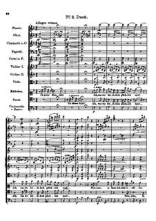 Der vierjährige Posten (The Four-Year Post), D.190: No.2 Duet by Franz Schubert