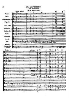 Der vierjährige Posten (The Four-Year Post), D.190: No.4 Quartet by Franz Schubert