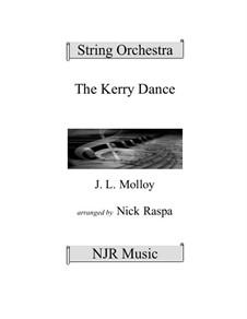 The Kerry Dance: para orquetra de cordas by James L. Molloy