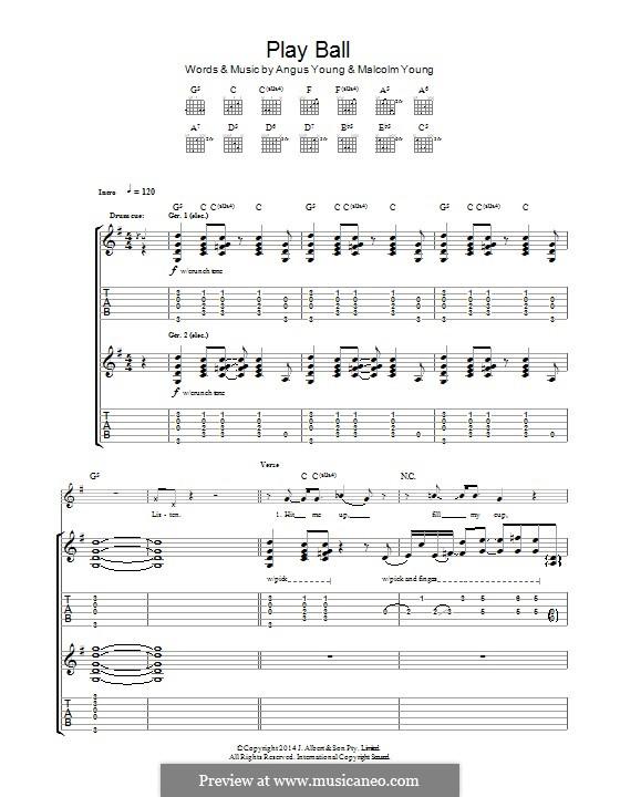 Play Ball (AC/DC): Para guitarra com guia by Angus Young, Malcolm Young