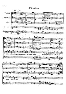 Claudine von Villa Bella, D.239: No.3 Arietta by Franz Schubert