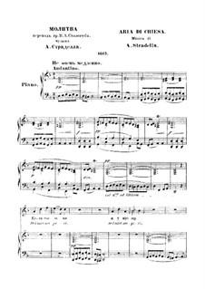 Prayer: Em D menor by Alessandro Stradella