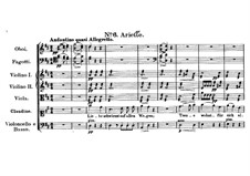 Claudine von Villa Bella, D.239: No.6 Arietta by Franz Schubert