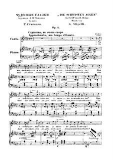 Schonsten augen, Op.2: Schonsten augen by Giorgio Stigelli
