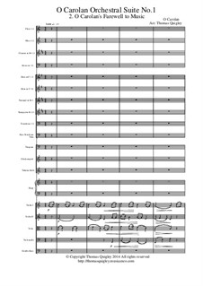 O Carolan Orchestral Suite No.1: movimento II by Turlough O'Carolan