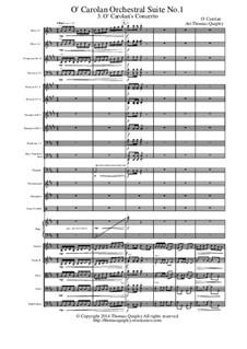 O Carolan Orchestral Suite No.1: movimento III by Turlough O'Carolan
