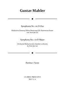 Symphony No.1 in D Major 'Titan': partitura completa by Gustav Mahler