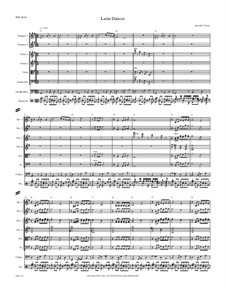 Latin Dancer, Op.141: Latin Dancer by JHFP