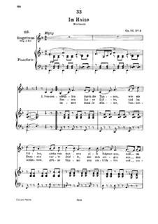 Im Haine (In the Wood), D.738 Op.56 No.3: para voz baixa e piano by Franz Schubert