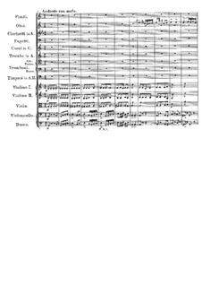 Symphony No.9 in C Major 'The Great', D.944: movimento II by Franz Schubert