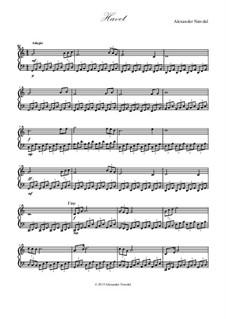 Havet: Para Piano by Alexander Nævdal