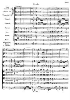 Mass No.4 in C Major, D.452: credo by Franz Schubert