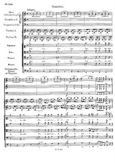 Mass No.4 in C Major, D.452: Sanctus by Franz Schubert