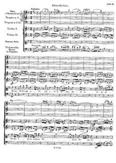 Mass No.4 in C Major, D.452: Benedictus by Franz Schubert