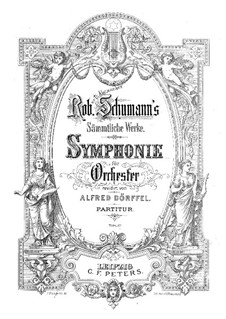 Symphony No.2 in C Major, Op.61: movimento I by Robert Schumann